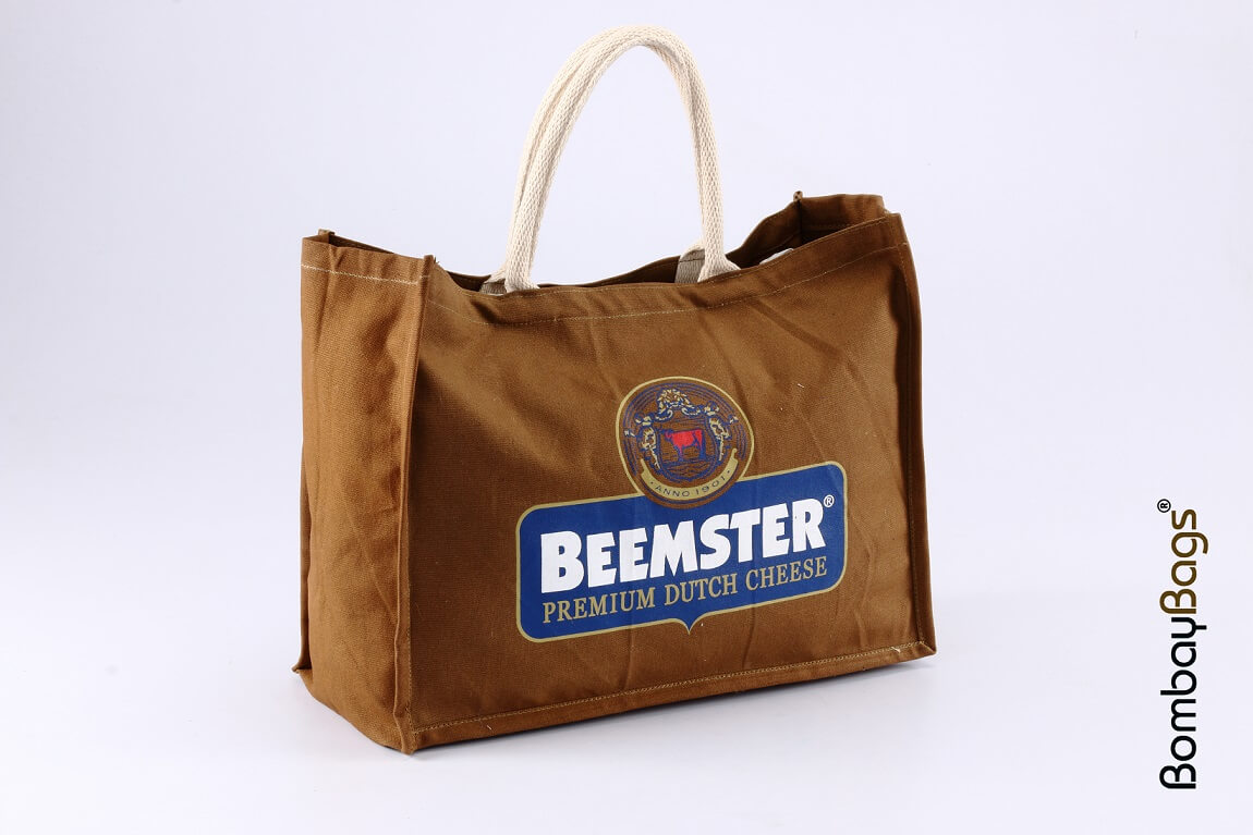 Custom Printed Beemster Canvas Tote Promotional Tote Bag by Bombay Bags
