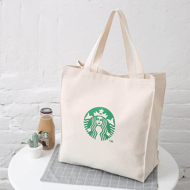 Starbucks Canvas tote Bombaybags.com