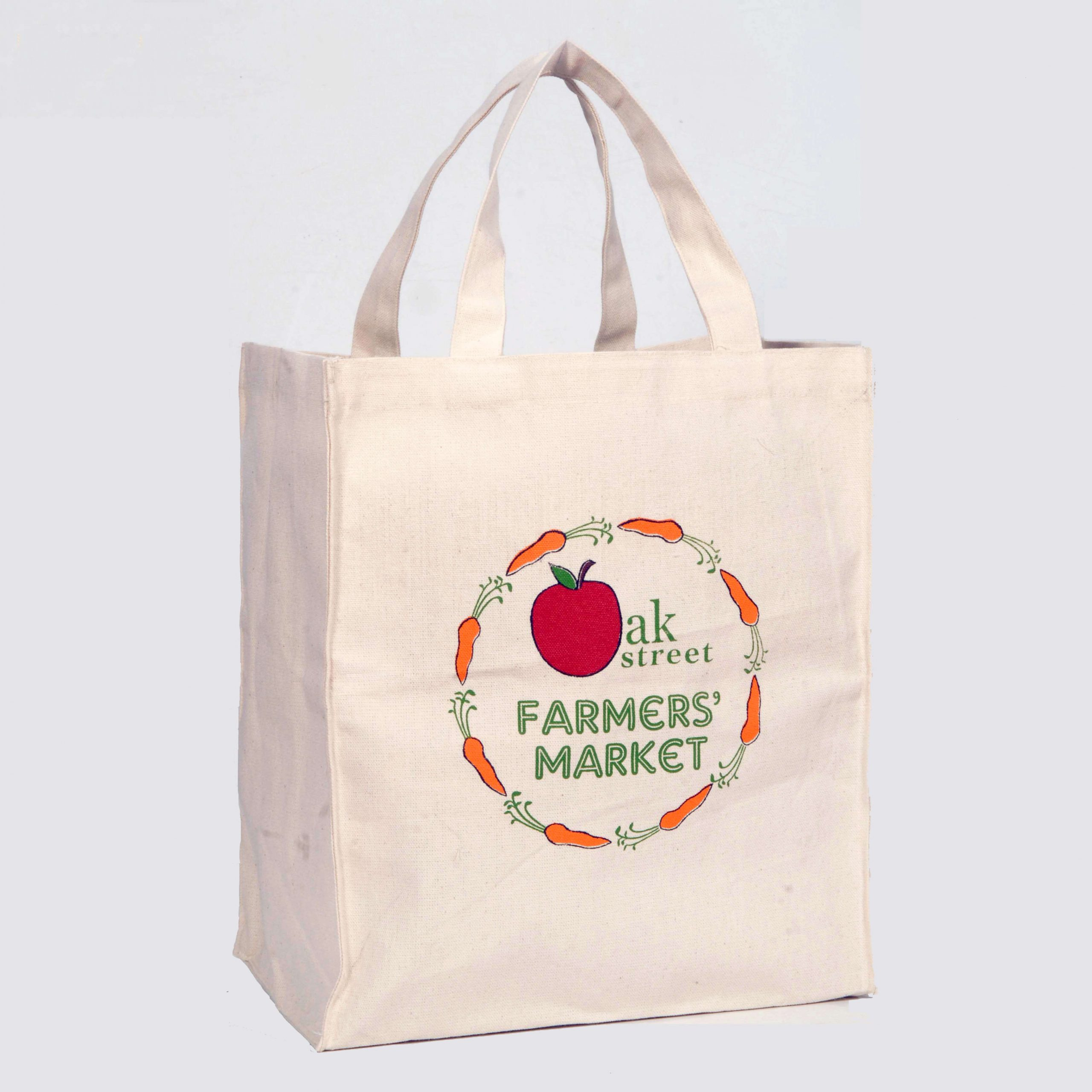 High Quality Canvas Tote Bag - Farmers Market