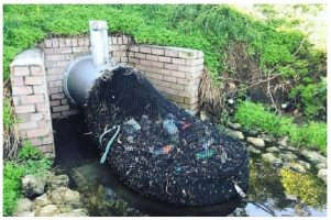 Mesh drains preventing plastic pollution in Rivers and lakes, developed in Australia