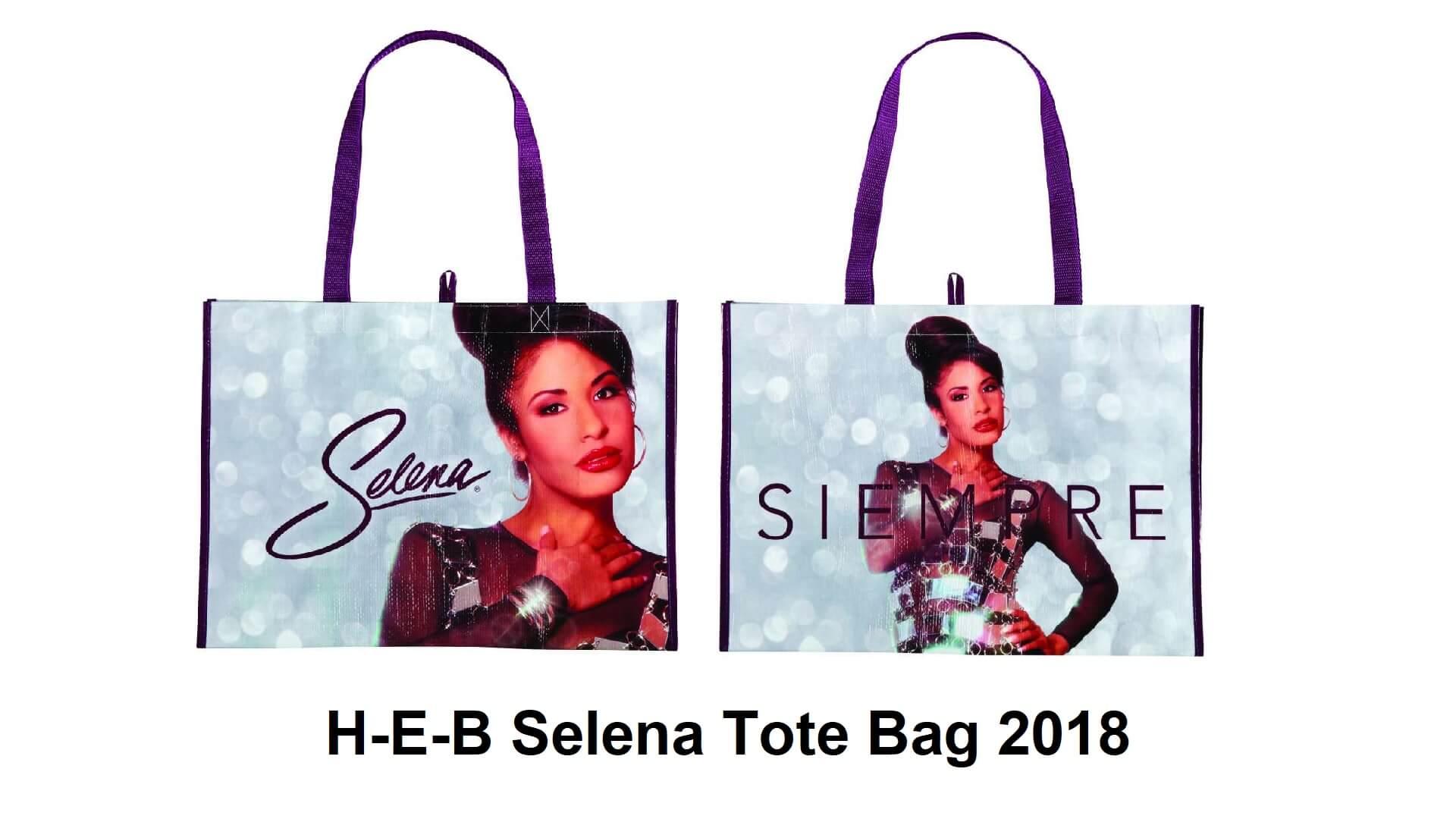 H-E-B Selena tote bag